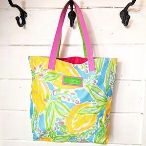 Lilly Pulitzer For Estēe Lauder Canvas Bag